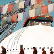Boudha Stupa, Kathmandu, Nepal