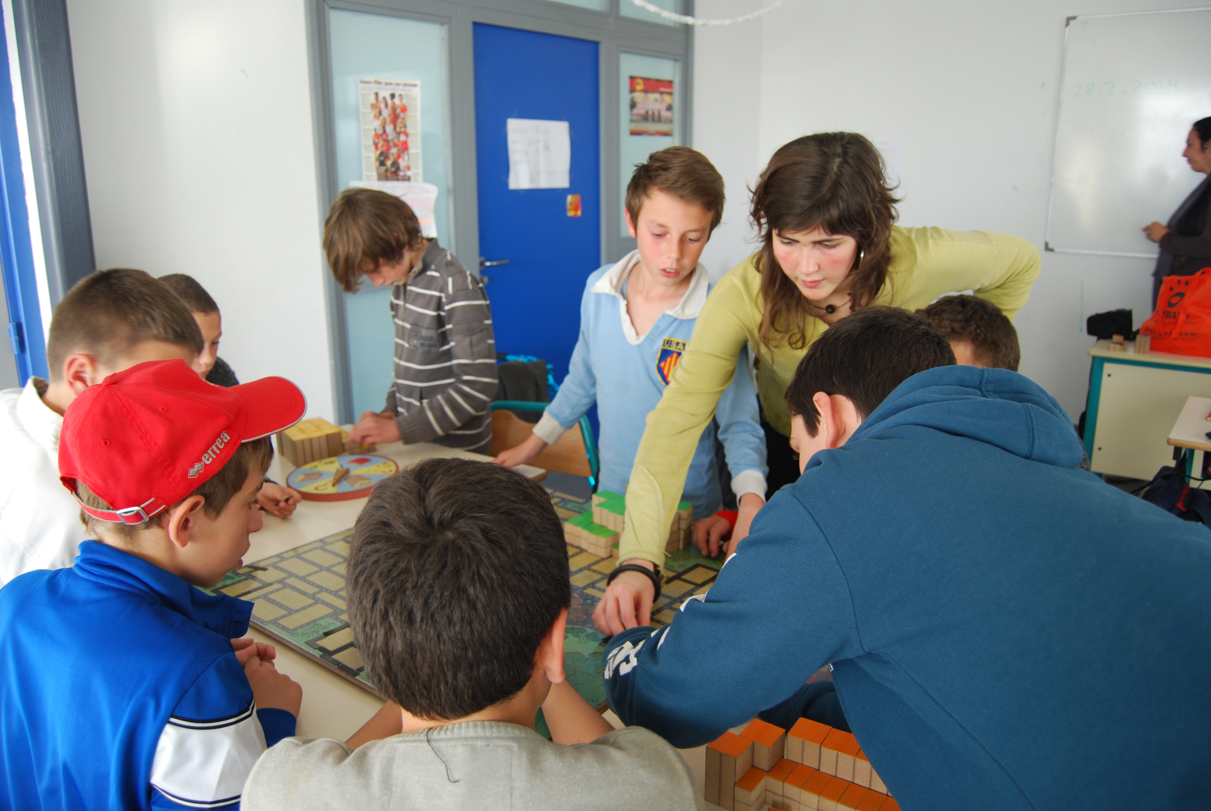 Urbanins durant un taller