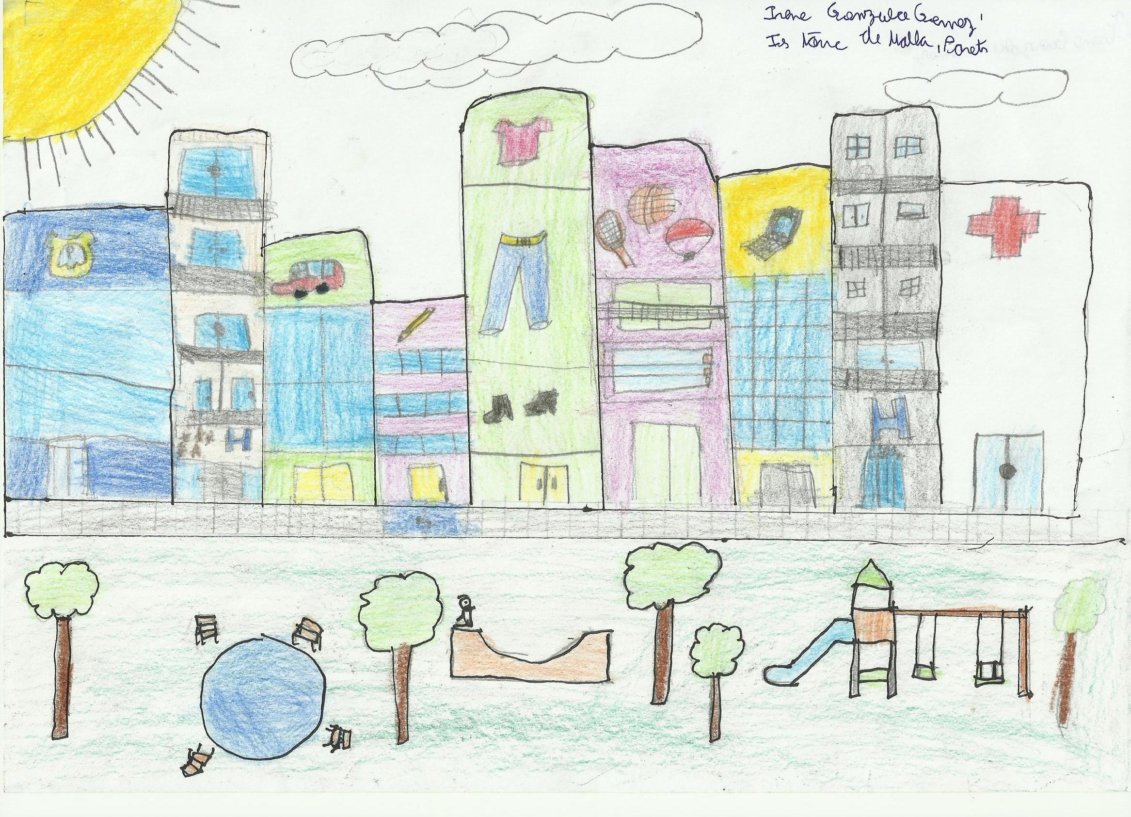 La ciutat amb ulls de nen