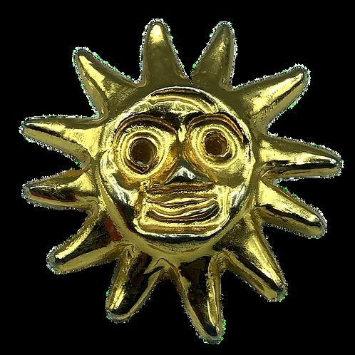 Christian Lacroix Sun Brooch