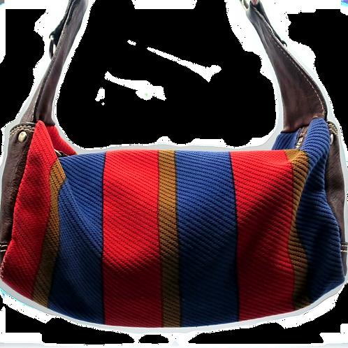 Miu Miu Canvas & Leather Bag
