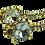 Thumbnail: Yves Saint Laurent Preloved Crystal Earrings.