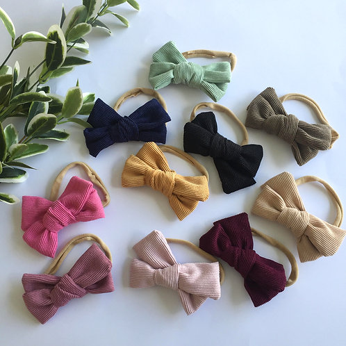 Cord Bow Headbands