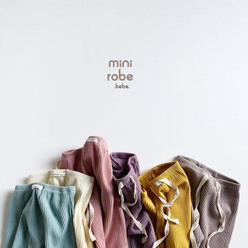 Ribbed Leggings - By Mini Robe Bebe