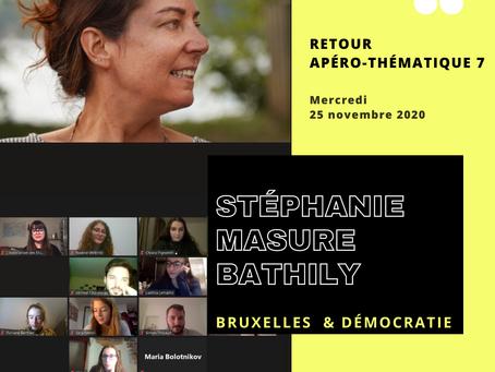 APÉRO THÉMATIQUE N°7 - Bruxelles & démocratie