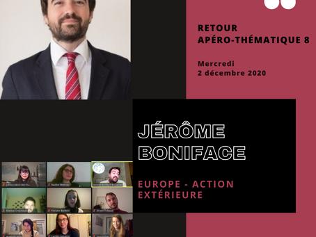 APÉRO-THÉMATIQUE N°8 - Europe & Action extérieure