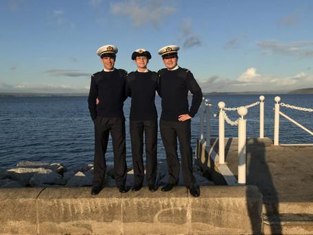 Des alumni à l'École navale