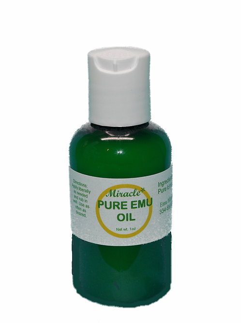2 oz PURE EMU OIL