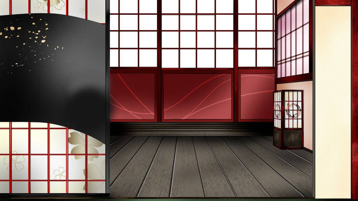 蓮太郎用椿の部屋襖(昼).jpg