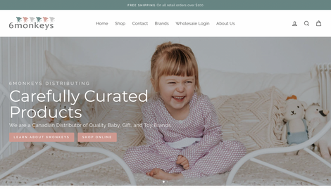 Six Monkeys - Curated Products