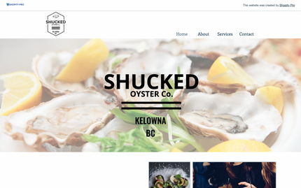 Shucked Oyster Co. - Mobile Oyster Service