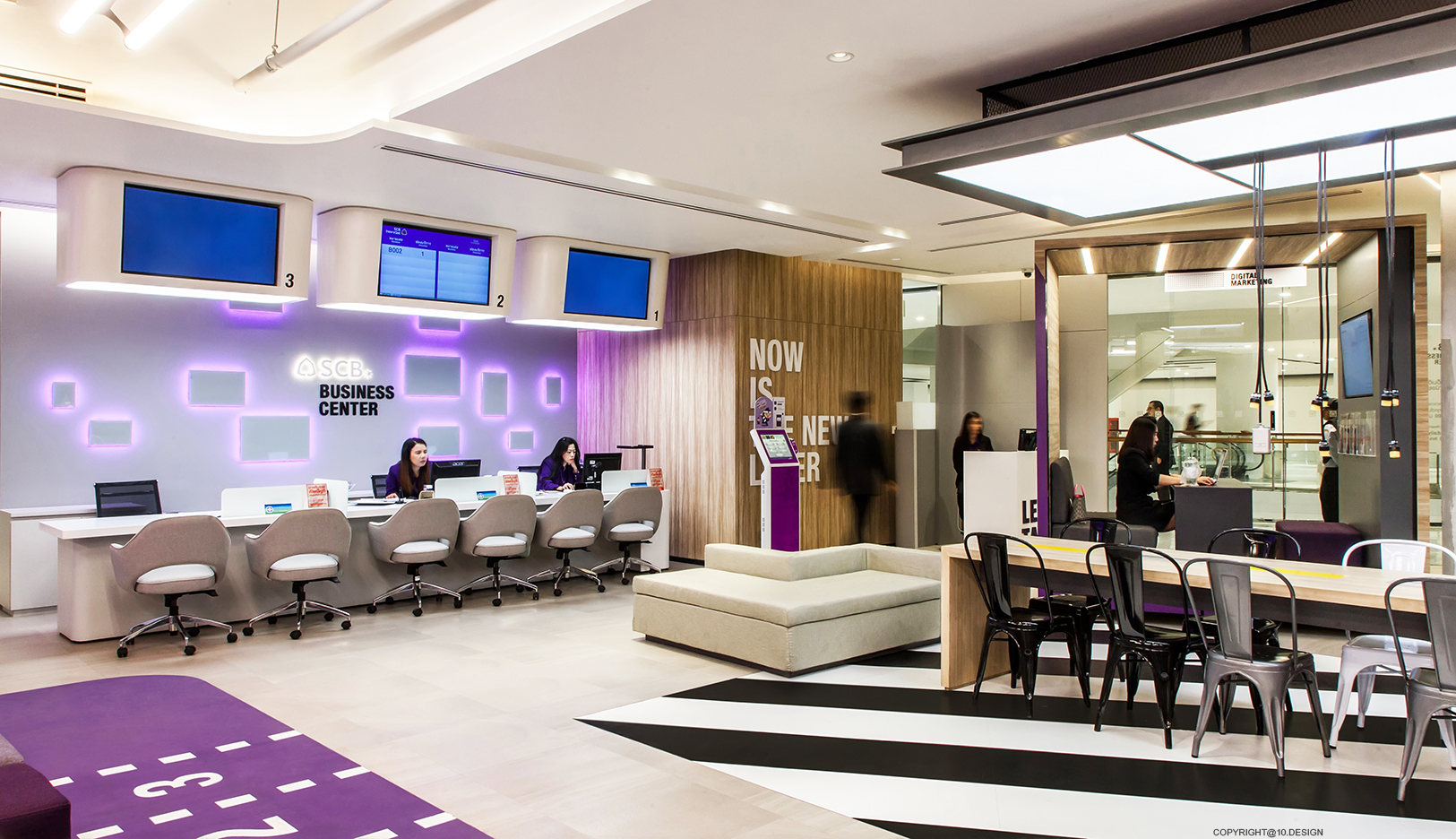 10 DESIGN SCB BANKING BUSINESS CENTER CENTRAL WORLD INTERIOR COMMERCIAL 09