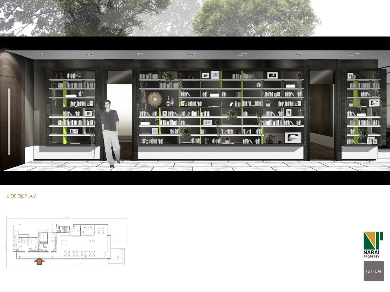 TBT-DAF interior parkland narai condominium 16