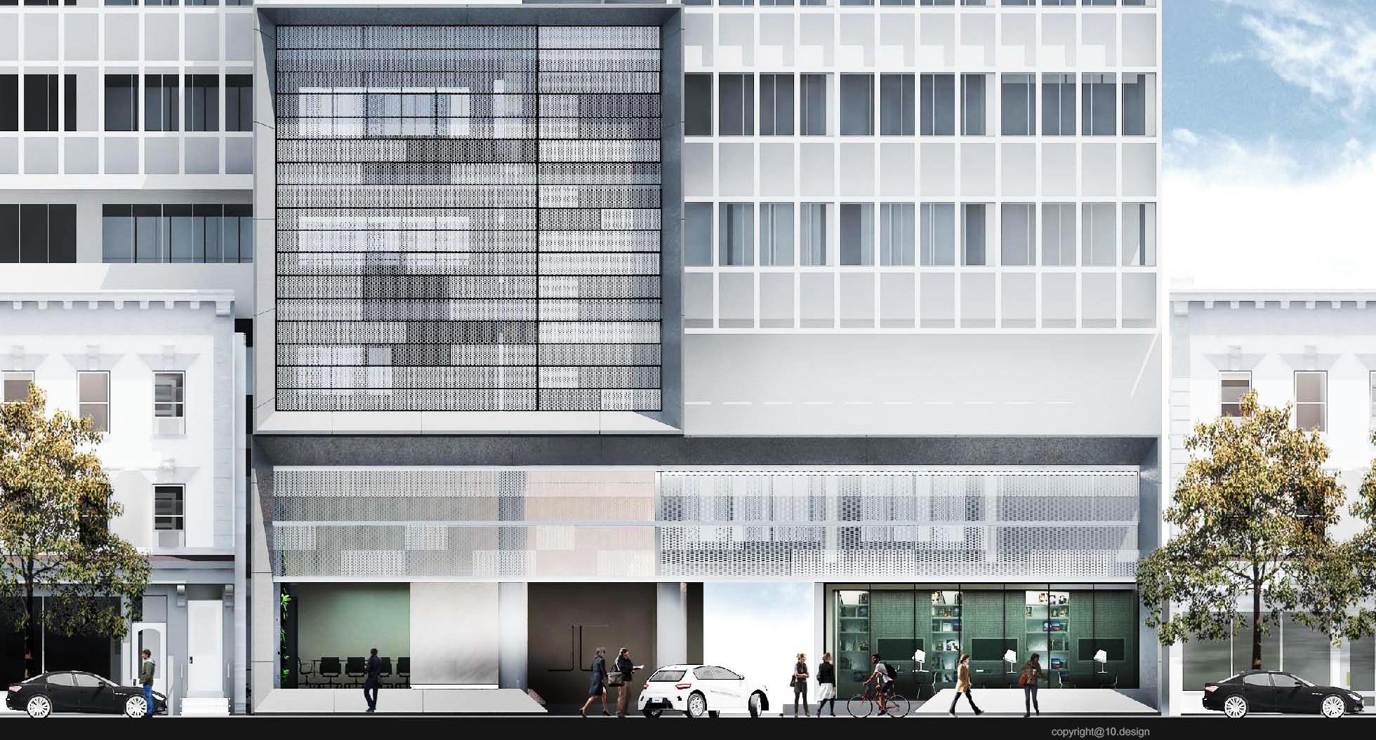 Chanwanich building renavation 10design architecture skin facade concrete scheme 06