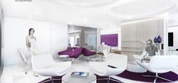 10Design apex medical center interior design 03