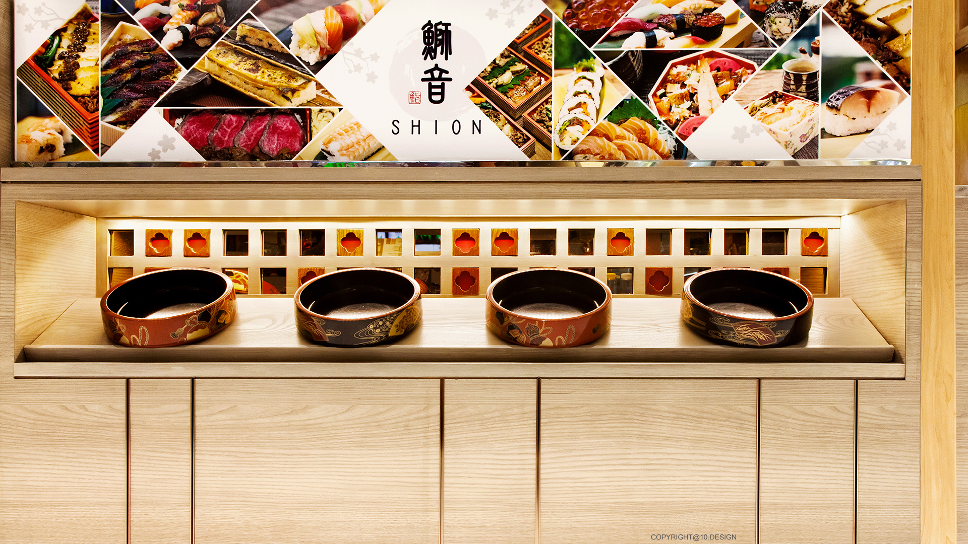 10 design shion sushi bar japanese booth takeaway interior emquartier bangkok restaurant 04