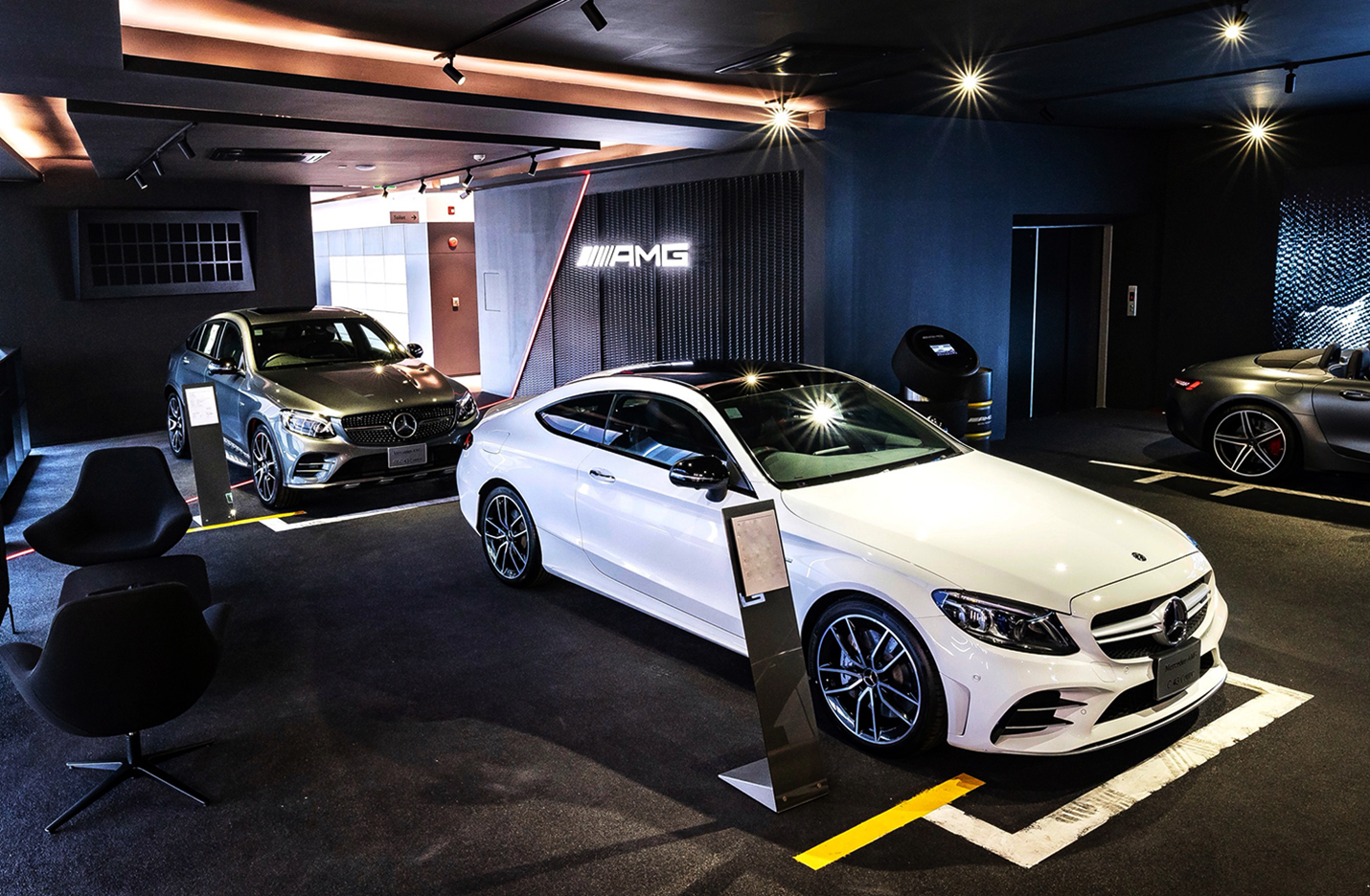 benz showroom 10 design amg interior des