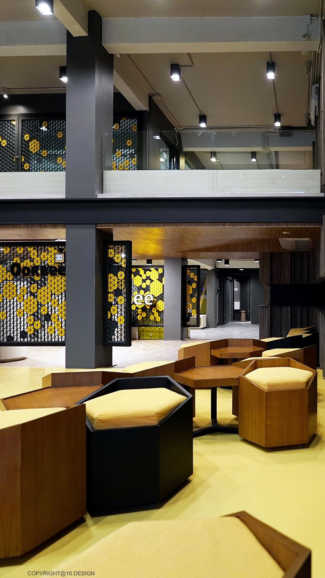 10DESIGN ookbee head office interior design start up 09