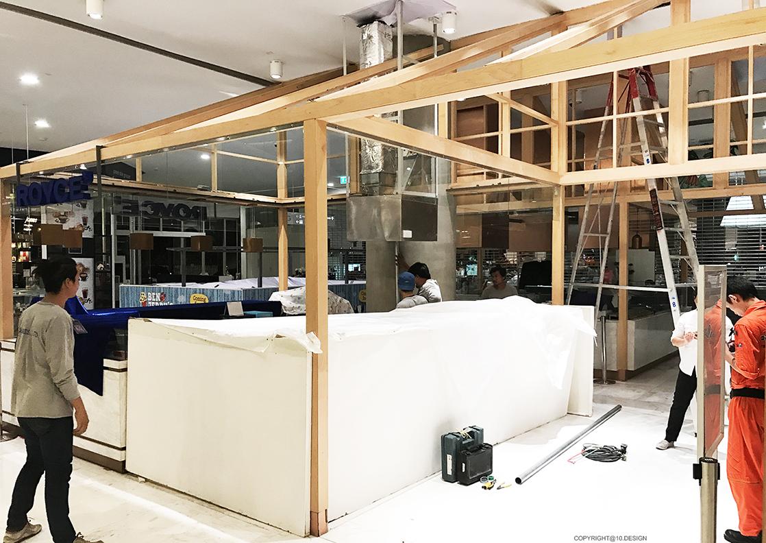 10 design shion sushi bar japanese booth takeaway interior emquartier bangkok CONSTRUCTION 03