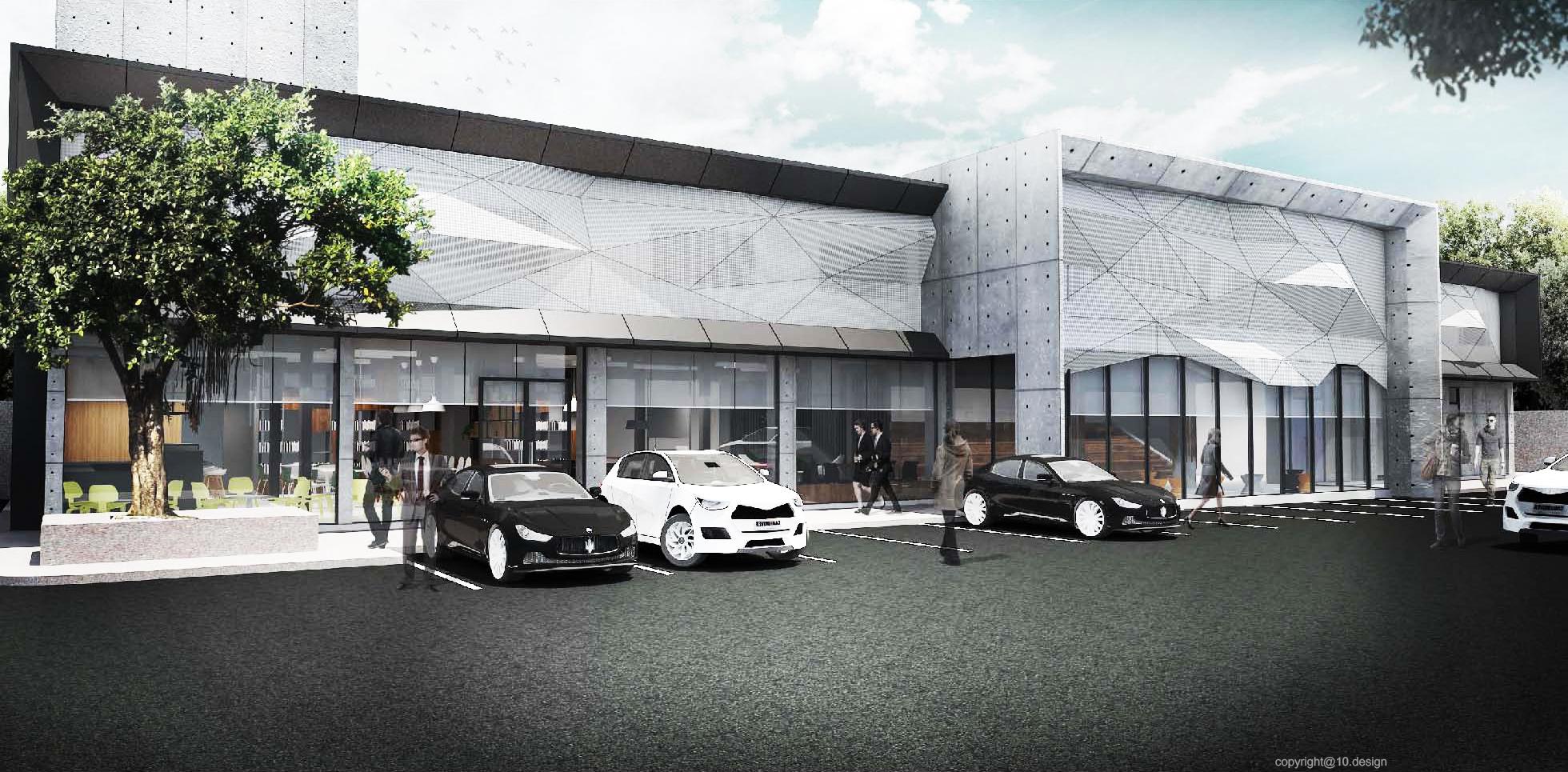 Chanwanich building renavation 10design architecture skin facade concrete scheme 03