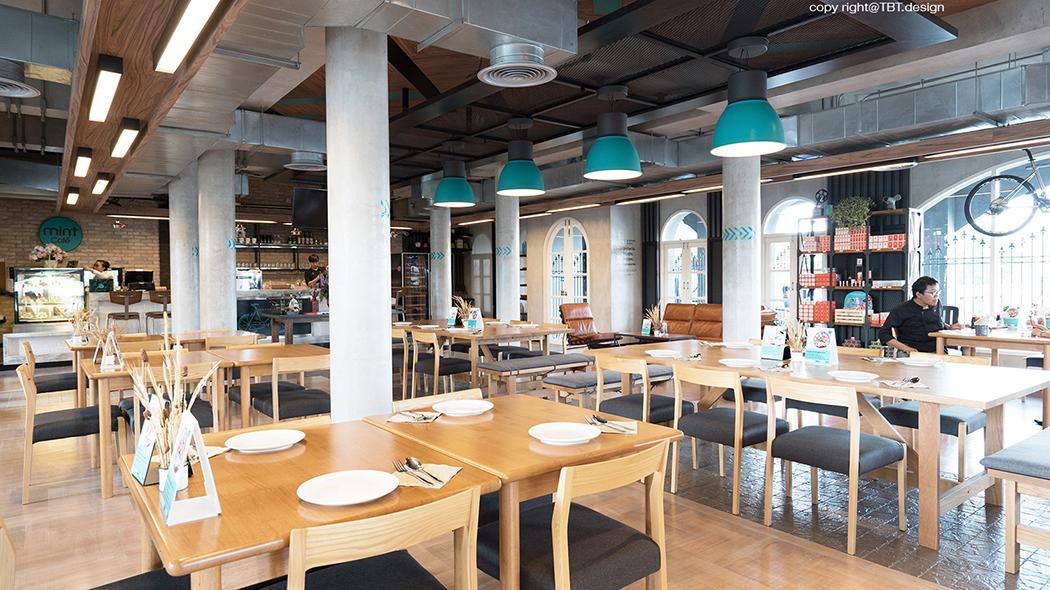 TBT design space interior mint cafe 05