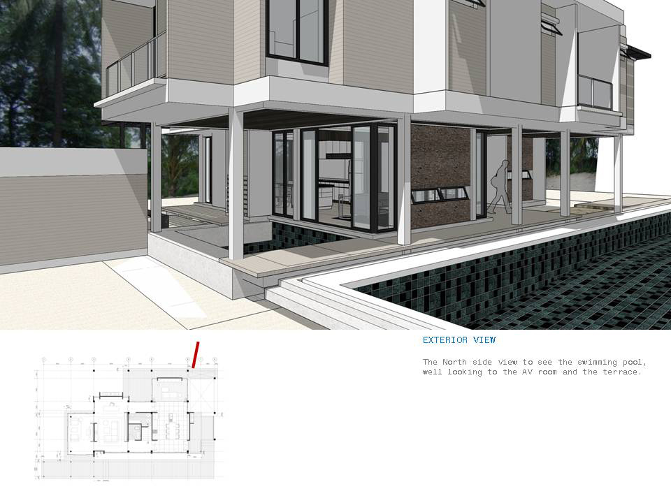 10design uthai residence house design modern architecture pattani thailand swimming pool 15