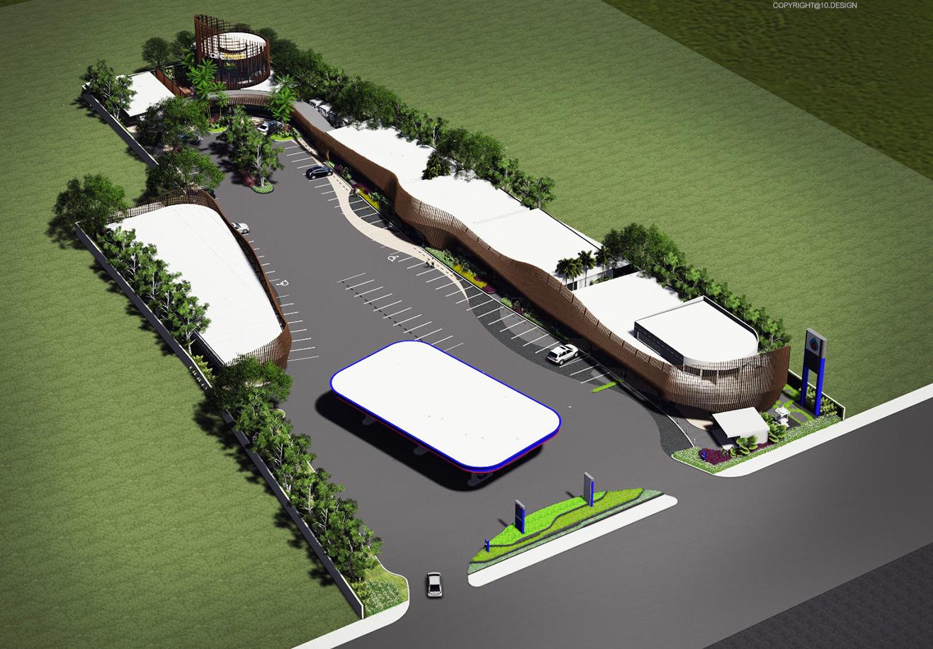 10DESIGN PTT GAS STATION LANDSCAPE ARCHITECT DESIGN PROJECT 01
