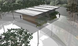 10DESIGN PTT GAS STATION LANDSCAPE ARCHITECTURE FACADE CURVE DESIGN PROJECT 11