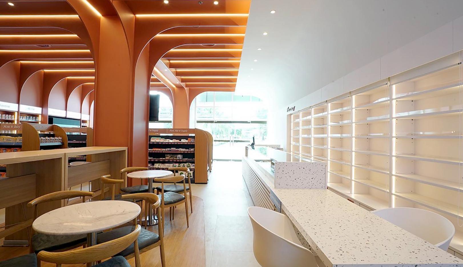 10design fascino flagship store interior