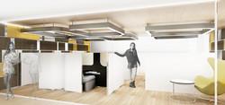 10Design apex medical center interior design 05