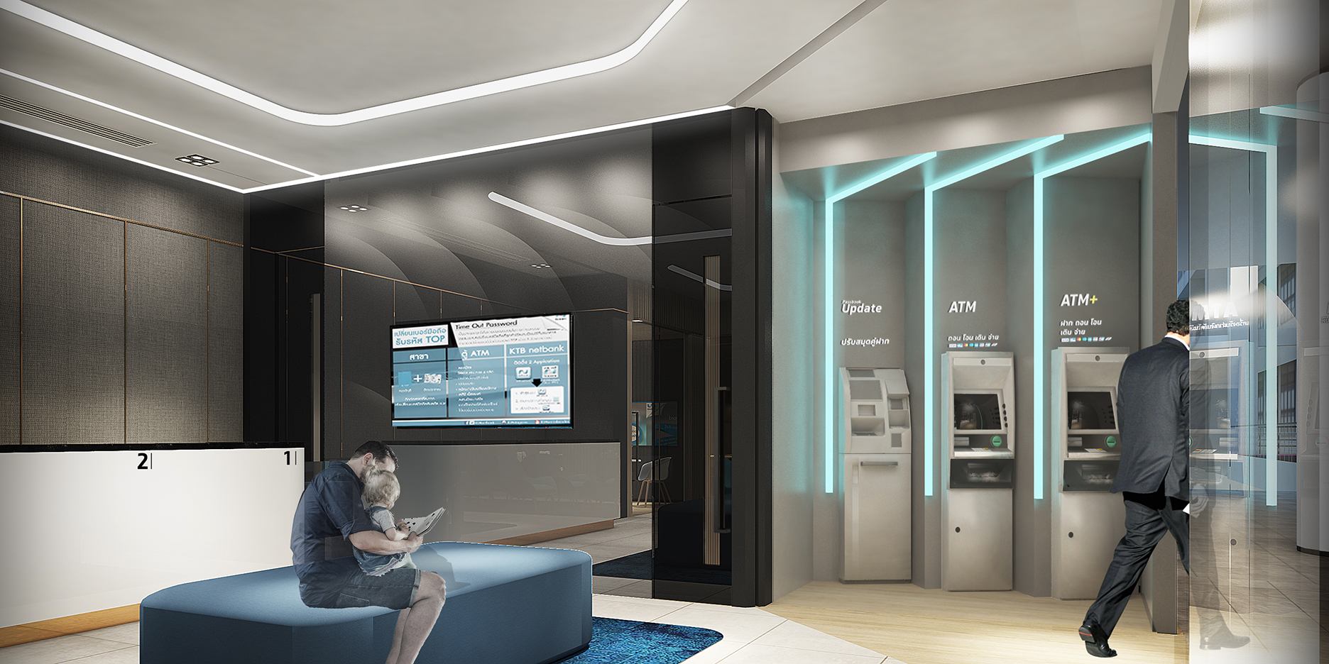 10 design krungthai bank branch the reve