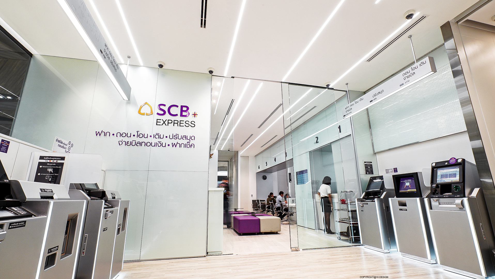 10DESIGN SCB BANKING RETAIL BRANCH INTERIOR DESIGN THAILAND 06