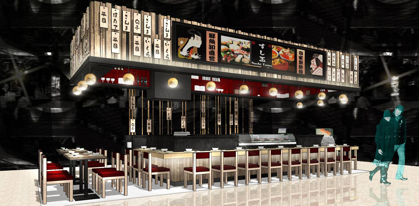 TBT-DAF interior design sushi tama 13
