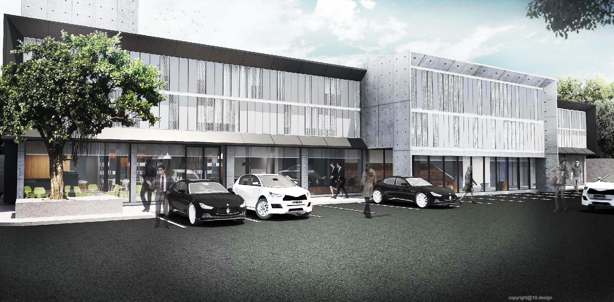 Chanwanich building renavation 10design architecture skin facade concrete scheme 02