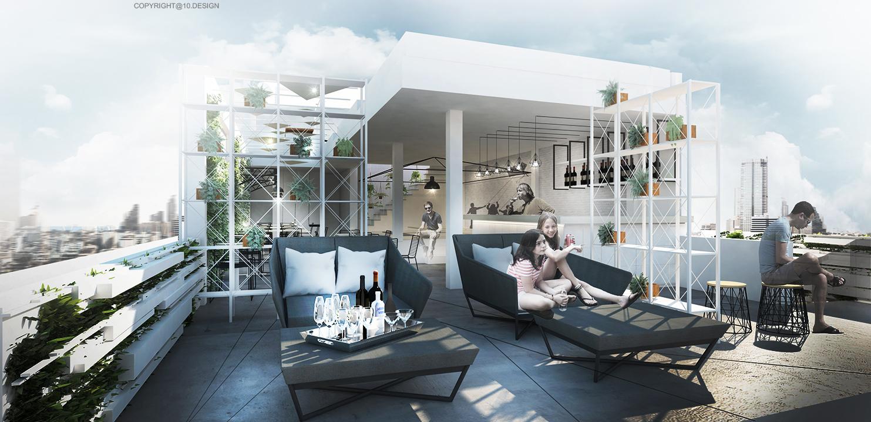 10design kite hostel bangkok hotel hospitality room 08