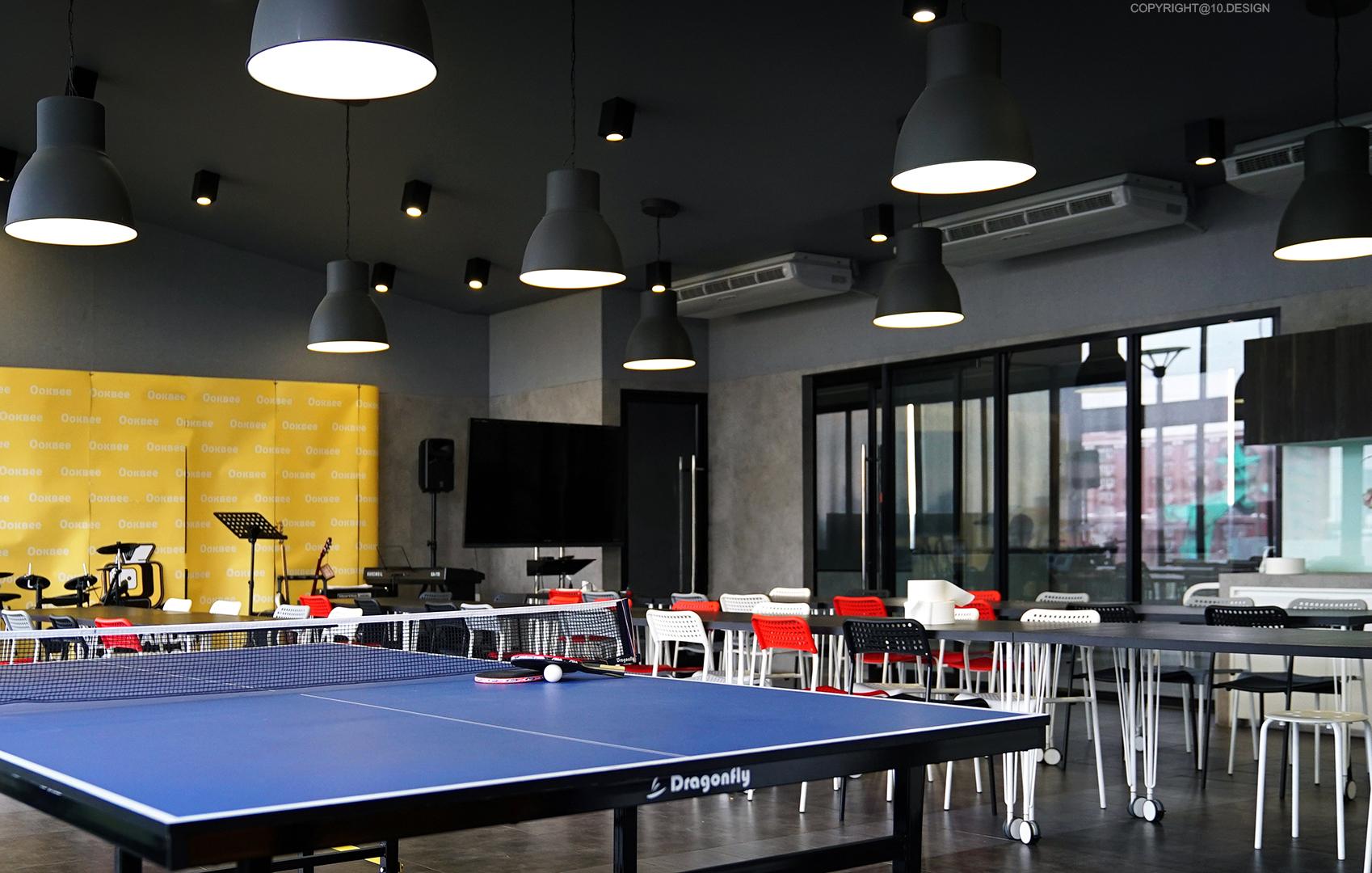 10DESIGN ookbee head office interior design start up 10