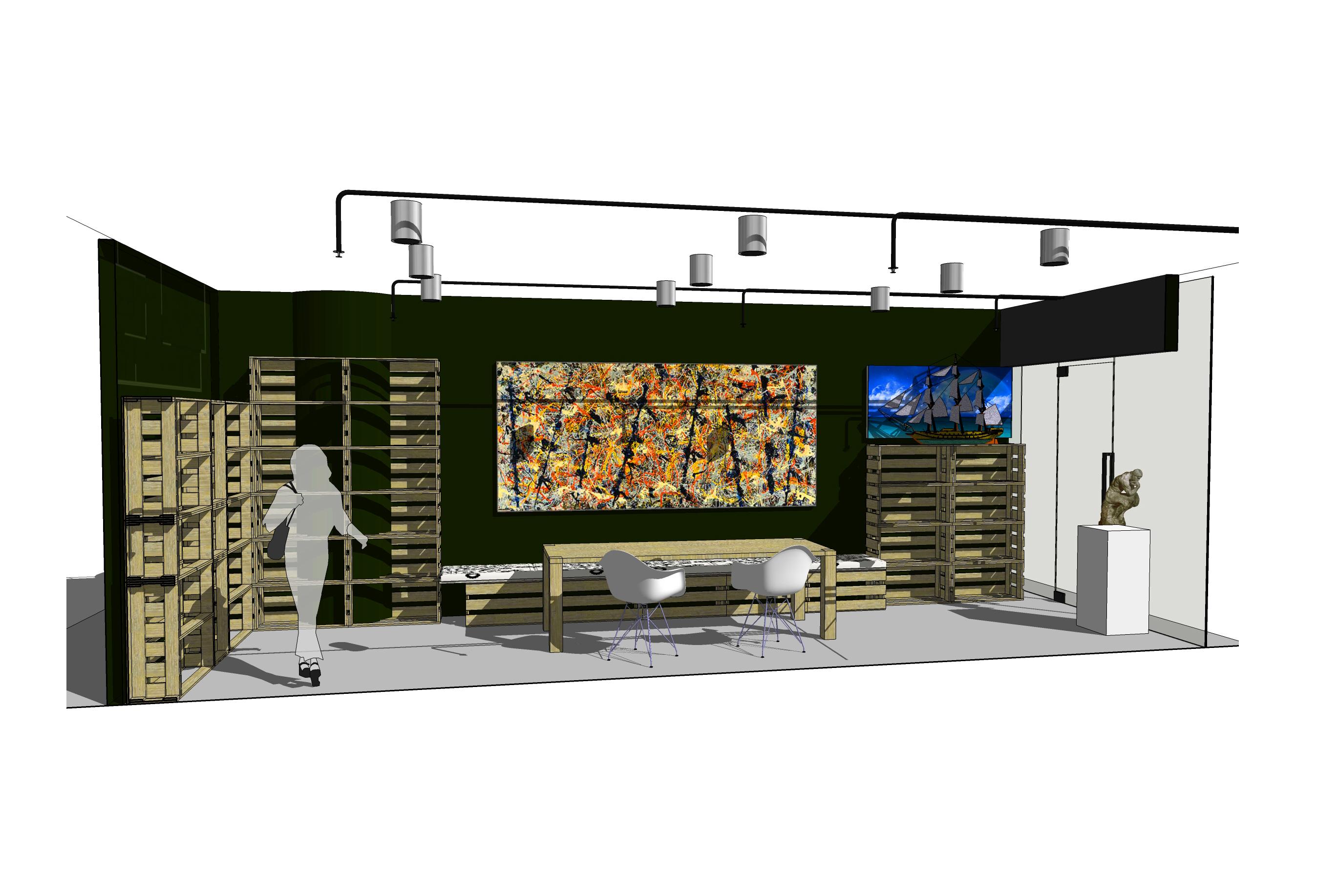 10DESIGN interior design goon studio photo paint shop retail commercial design 04