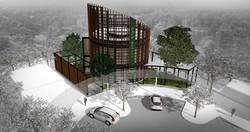 10DESIGN PTT GAS STATION LANDSCAPE ARCHITECTURE FACADE CURVE DESIGN PROJECT 01