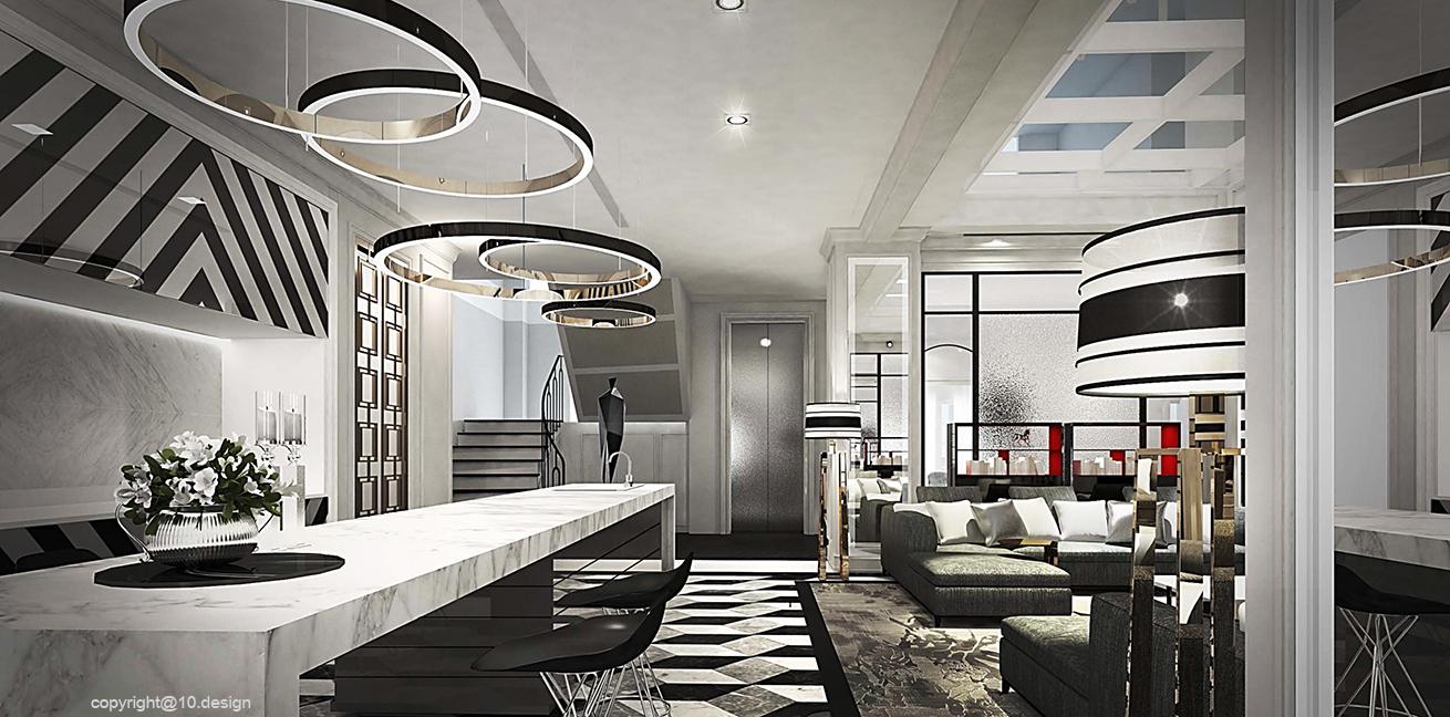 10 design interior design luxury house t&s residence 07