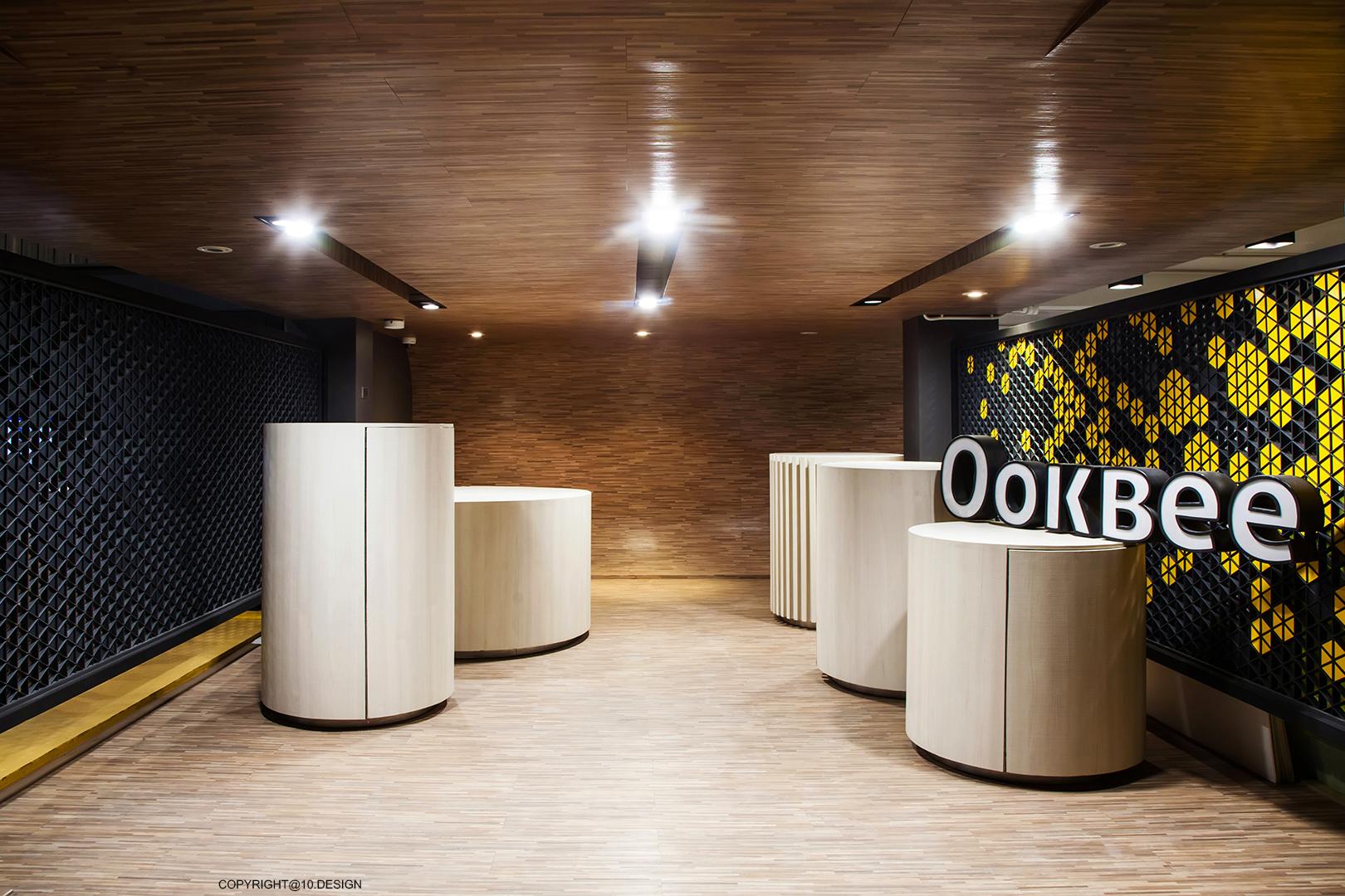 10DESIGN ookbee head office interior design start up 01