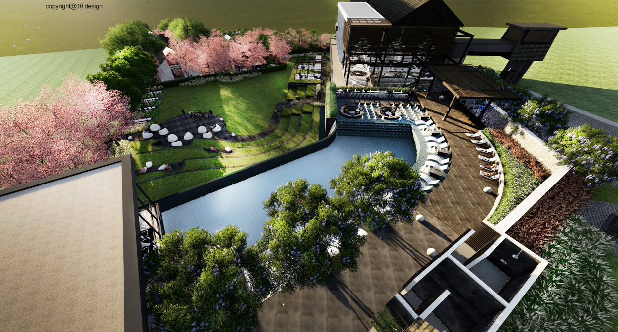Pu civilai resort 10design leisure hospitality architecture interior landscape architect lunar pool