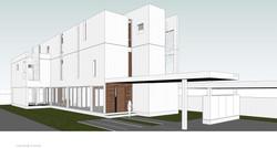 Ryn house architecture 10design modern house residence residential white plant 10