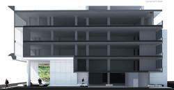 Chanwanich building renavation 10design architecture skin facade concrete scheme 10