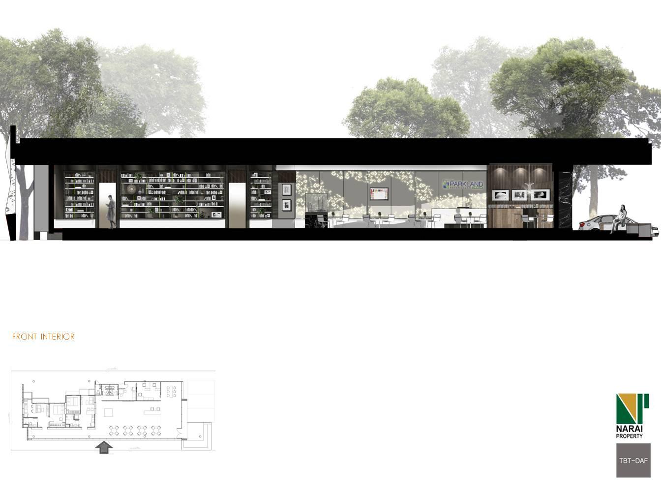 TBT-DAF interior parkland narai condominium 12