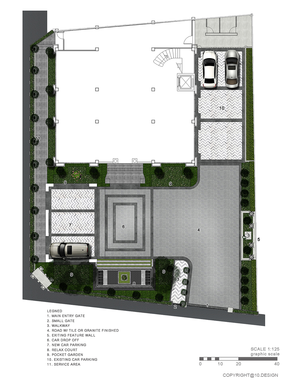 10 design landscape architect design luxury house t&s residence 03