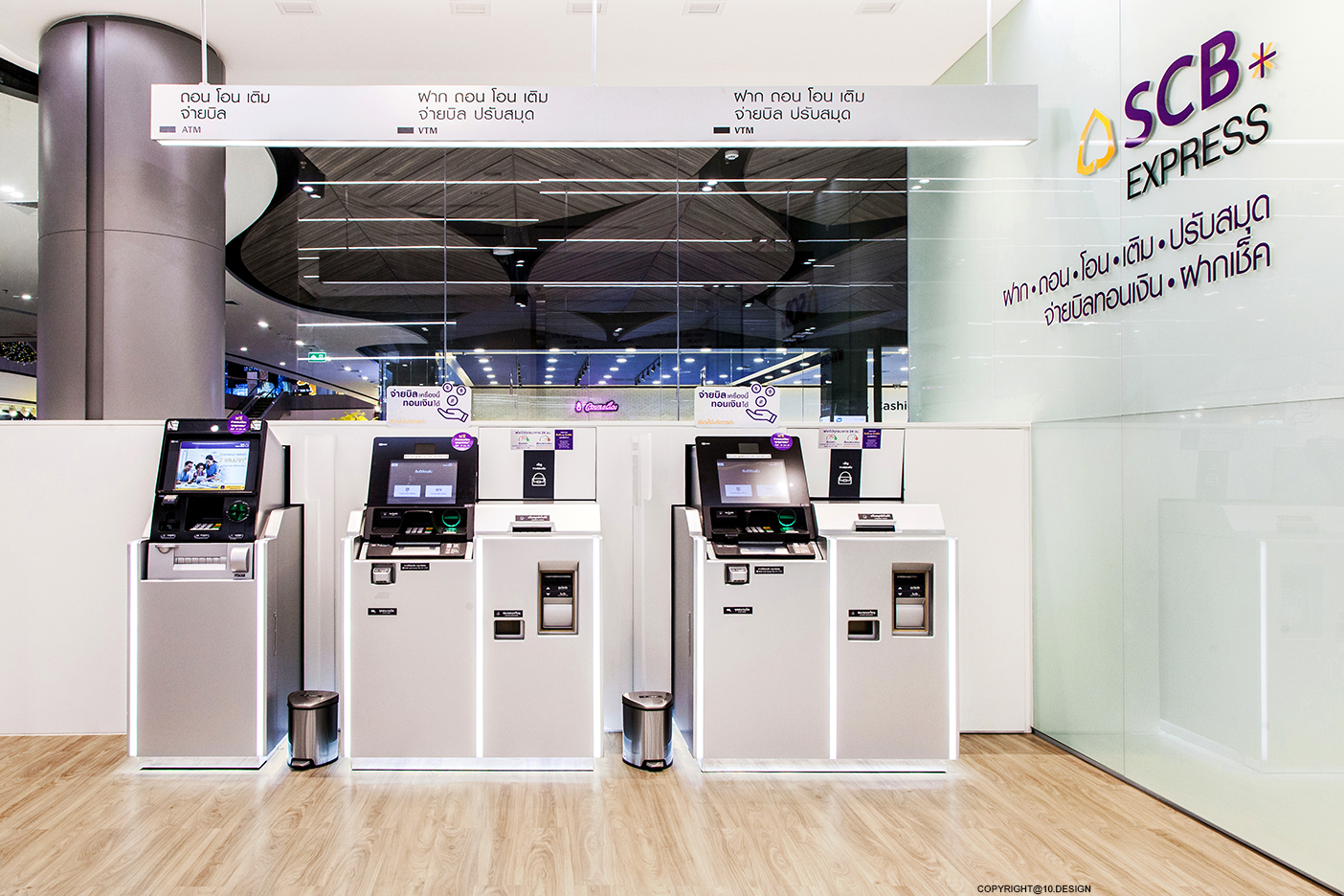 10DESIGN SCB BANKING RETAIL BRANCH INTERIOR DESIGN THAILAND 08