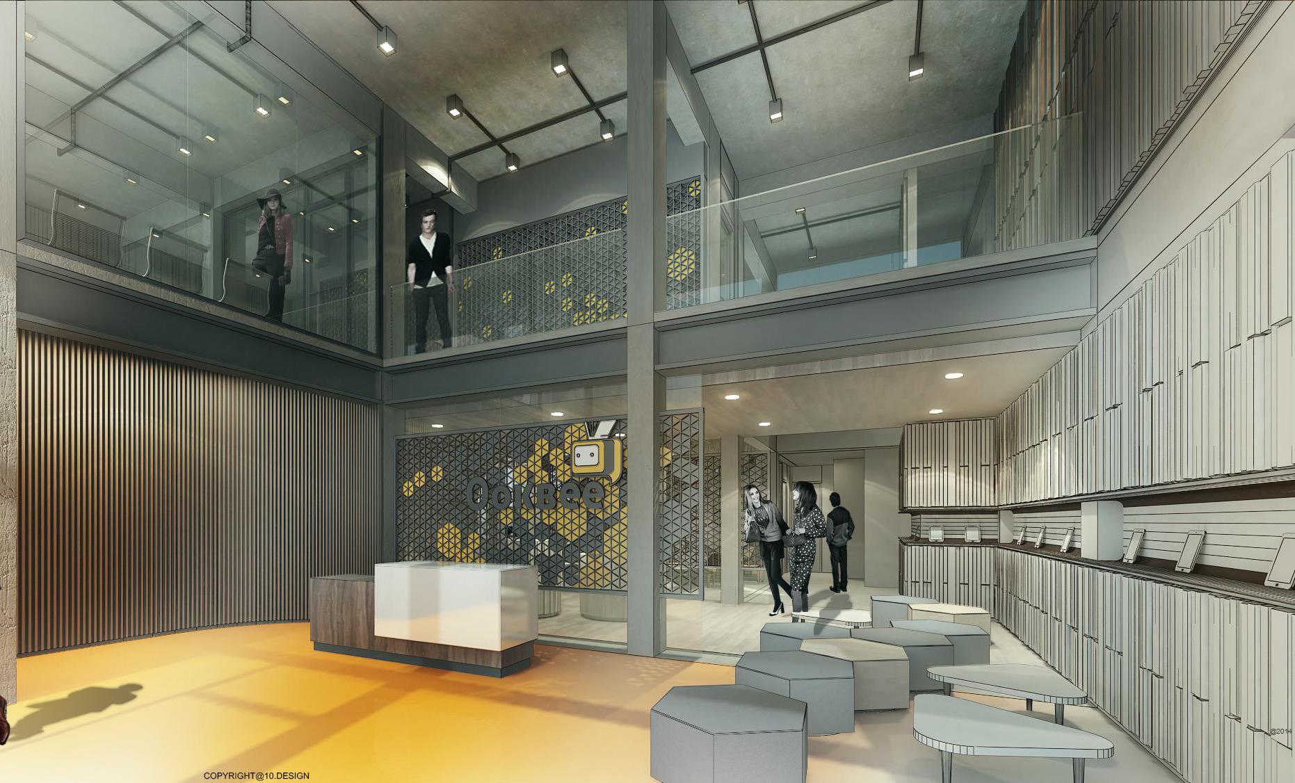 10DESIGN ookbee head office interior design start up THAILAND 06