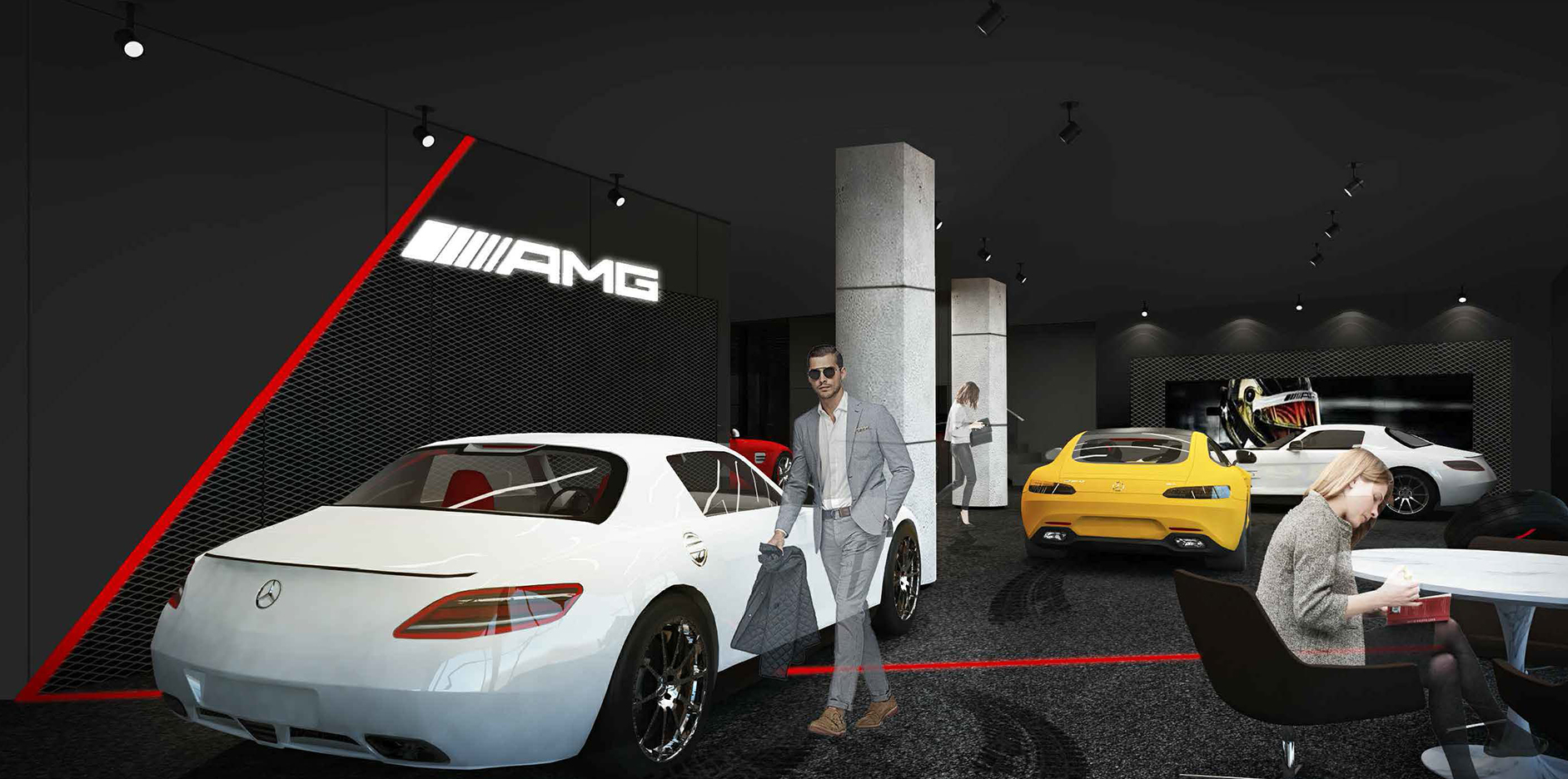amg performance mercedes benz design 01.