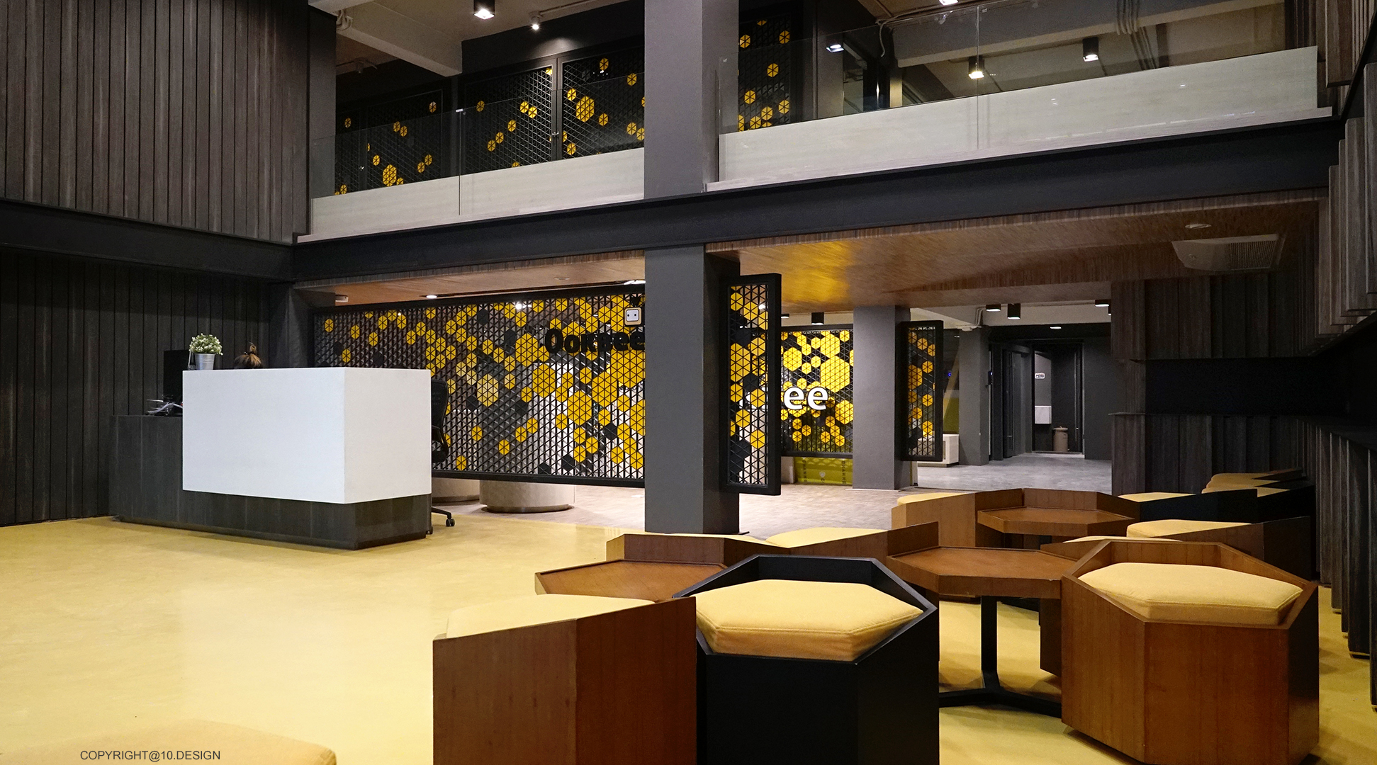 10DESIGN ookbee head office interior design start up 08