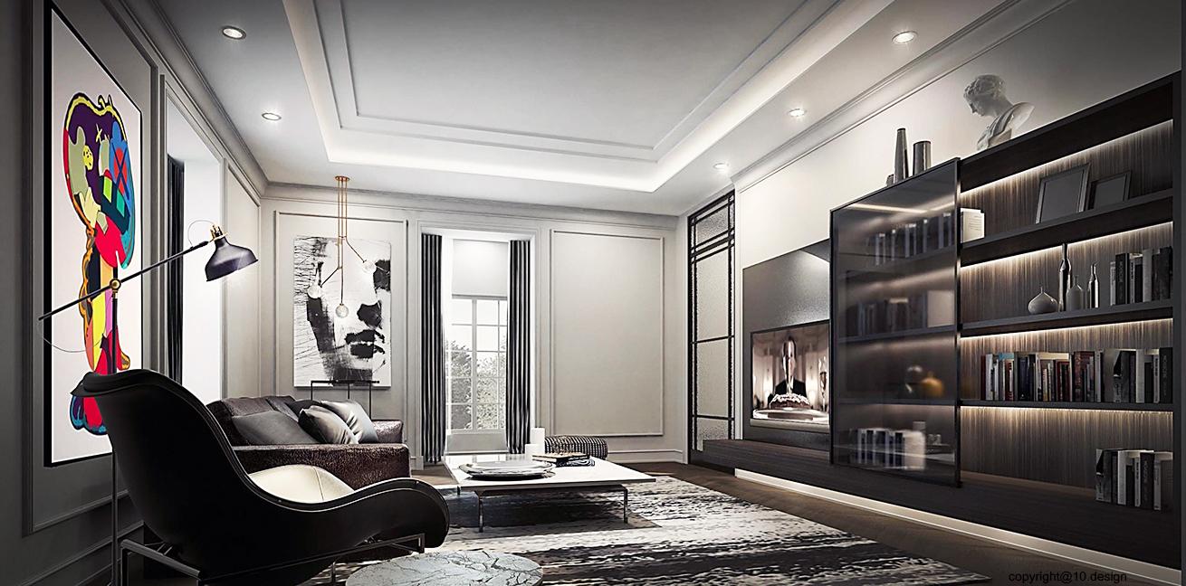 10 design interior design luxury house t&s residence 04